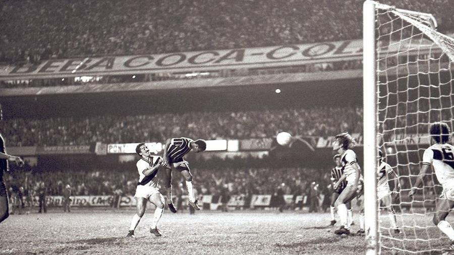 Final do Paulista de 1977 entre Corinthians e Ponte Preta, no Morumbi - Reprodução