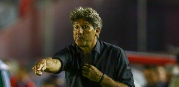 Treinador lembrou que Grêmio fez apenas terceiro jogo no ano