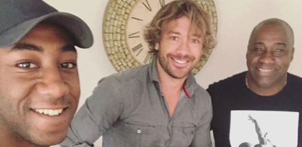 Gonzalo com Lugano no Uruguai - Reprodução/Instagram