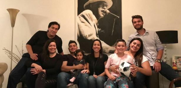 Roberto Rojas se apoiou na família durante o longo período de dificuldade