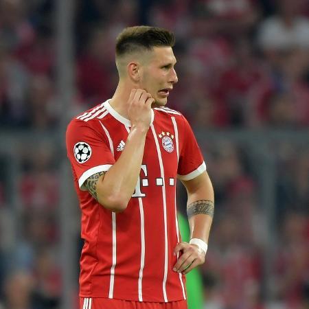 Süle, do Bayern, em partida contra o Real Madrid - REUTERS