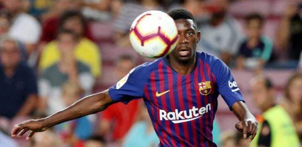 Dembélé é a segunda contratação mais cara da história do Barcelona - Albert Gea/Reuters
