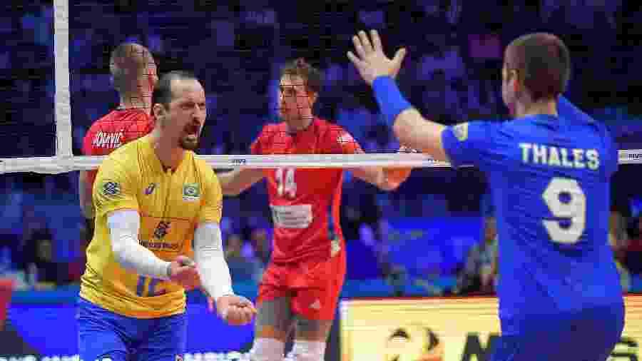 Brasil bate Sérvia na semi e repete final com a Polônia no Mundial de Vôlei be19b60f8d40e