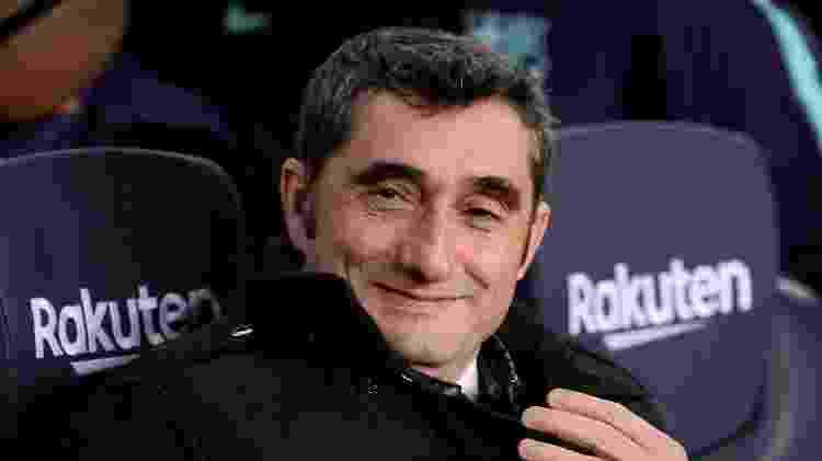 Valverde renovou com o Barcelona por mais uma temporada - JOSEP LAGO/AFP - JOSEP LAGO/AFP