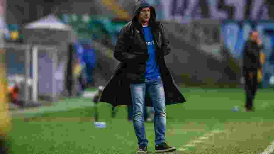 Renato Gaúcho admitiu que Grêmio procura reforços e situação de atacantes agrava o caso - Lucas Uebel/Grêmio FBPA