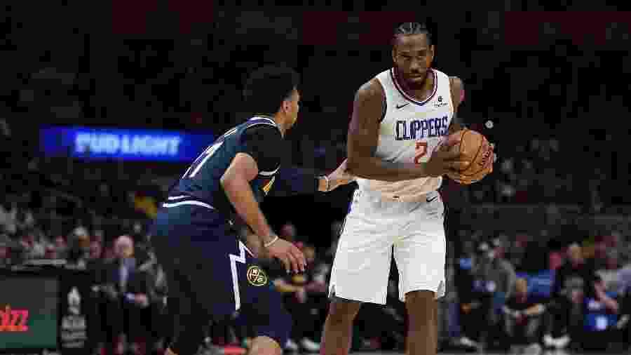 Kawhi Leonard reforça o Los Angeles Clippers na temporada 2019/20 da NBA - Harry How/Getty Images/AFP