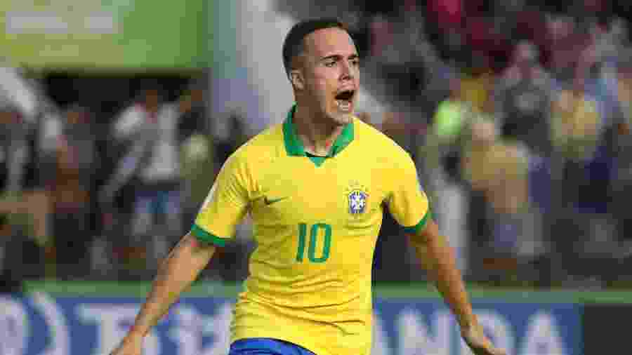 João Peglow comemora gol pela seleção brasileira no Mundial sub-17 - SERGIO MORAES/REUTERS