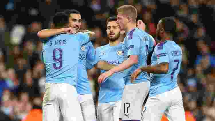 Gundogan recebeu assistência de Gabriel Jesus e marcou para o City - Alex Livesey - Danehouse/Getty Images