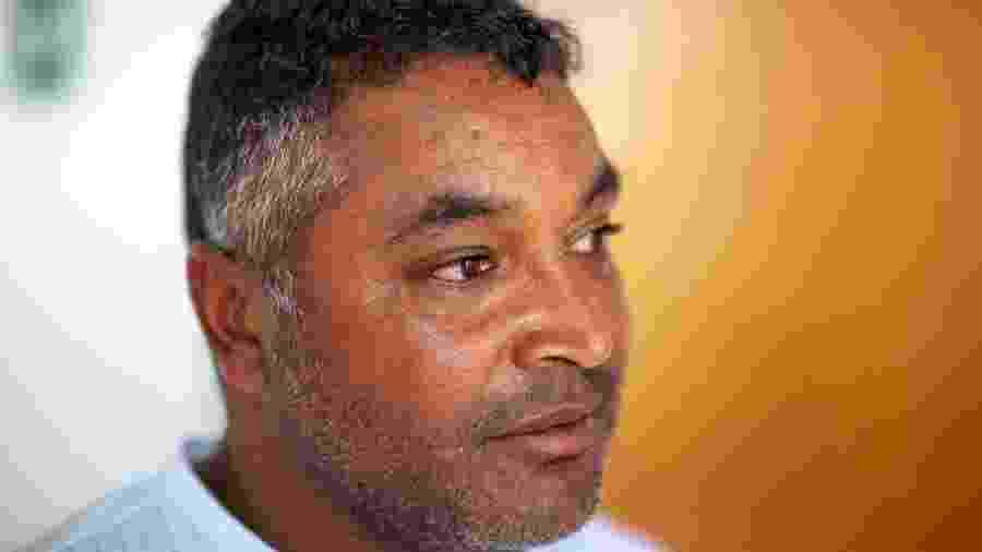 Roger Machado durante entrevista no novo CT do Bahia, em Salvador - Darío Guimarães Neto/UOL