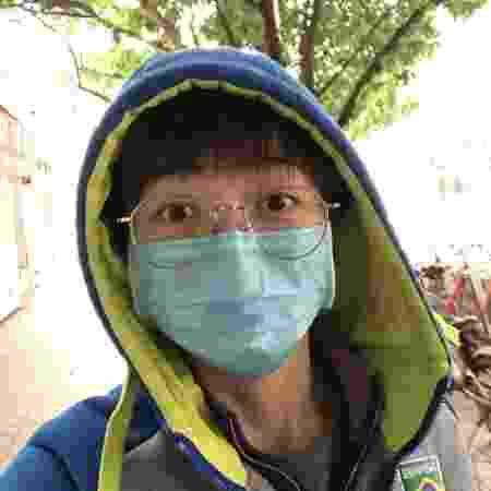 Gui Lin sai às ruas na China após quarentena - Arquivo pessoal - Arquivo pessoal