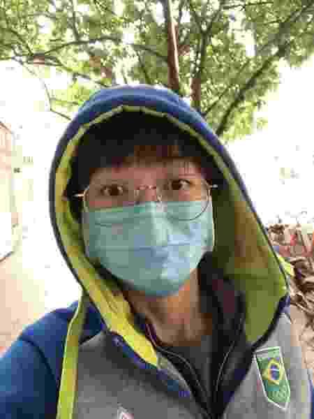 Gui Lin volta a sair às ruas na China - Arquivo pessoal