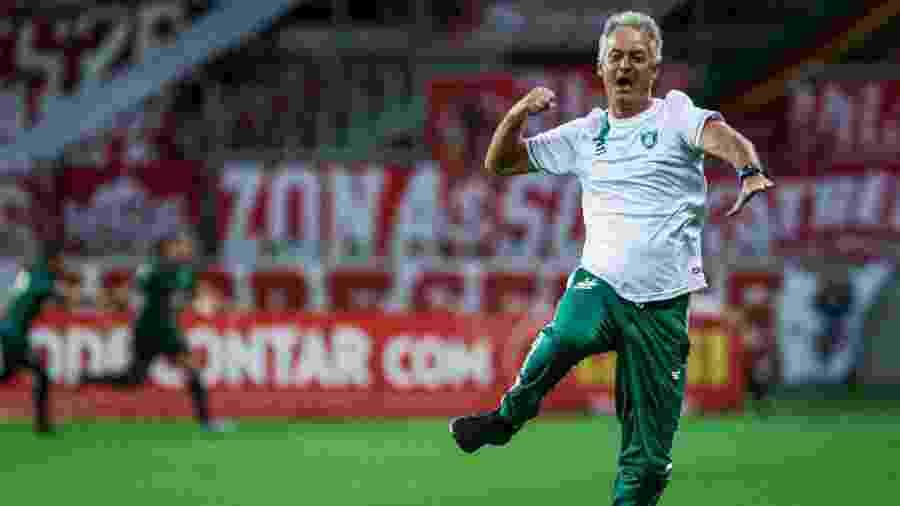América-MG comandado por Lisca eliminou Corinthians e Inter e está na semifinal da Copa do Brasil - Fernando Alves/AGIF