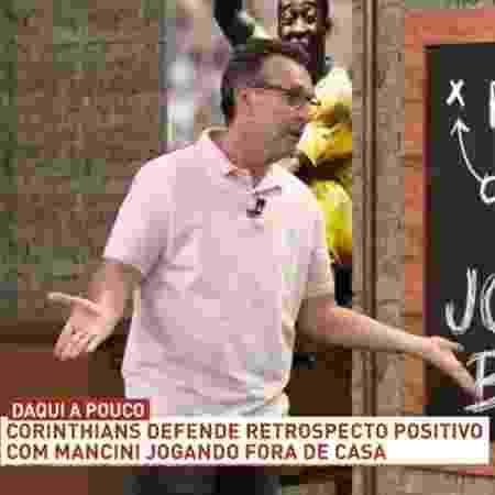 Neto pede demissão de Ceni no Flamengo e sugere Guardiola e Zidane - Reprodução/Band