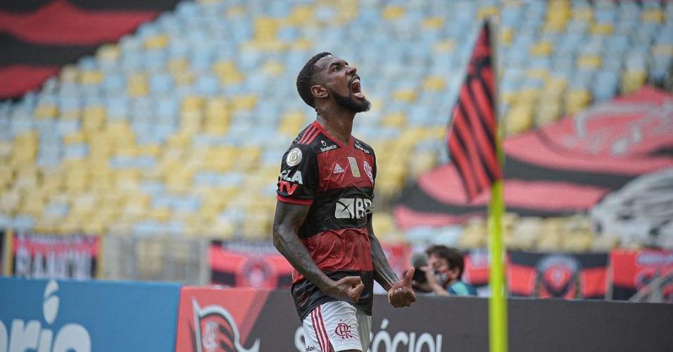 Gerson, jogador do Flamengo