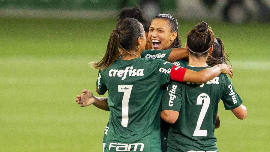 Palmeiras goleia Botafogo pelo Brasileirão feminino - Reprodução/Twitter