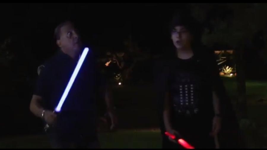 Galvão Bueno compartilhou homenagem ao filme Star Wars - Reprodução