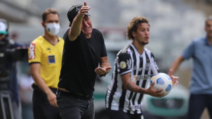 Técnico do Galo disse que Fortaleza mereceu a vitória por ter sido melhor, principalmente no segundo tempo - Mineirão/Divulgação