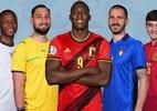 Uefa divulga seleção da Euro com 5 italianos, 1