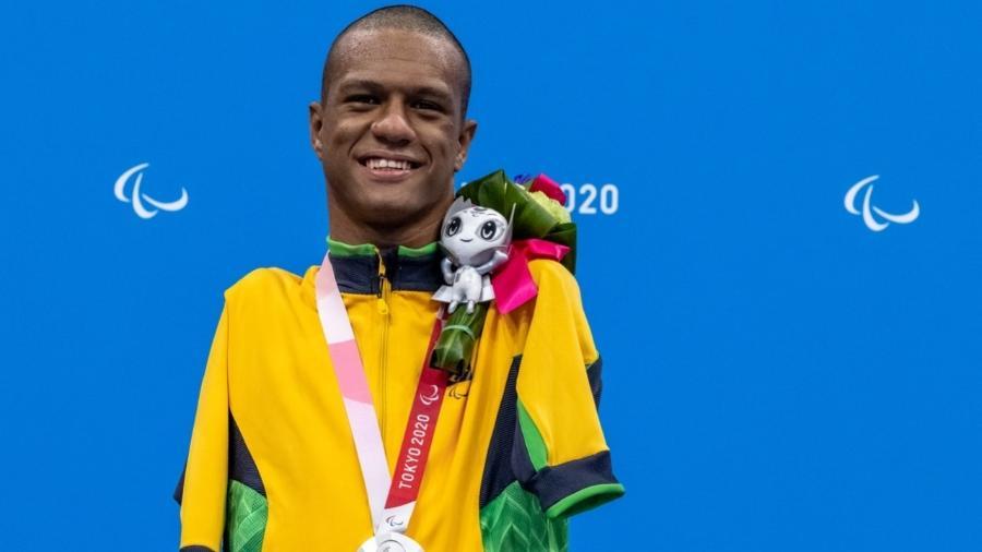Gabriel Geraldo é o primeiro medalhista do Brasil nas Paralimpíadas 2020 - Miriam Jeske/CPB
