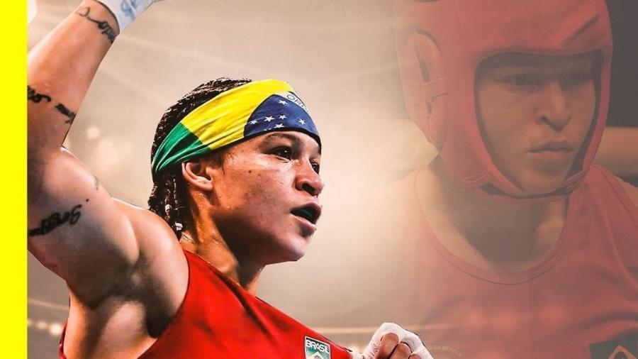 Bia Ferreira conquista o ouro no boxe do Campeonato Mundial Militar - Reprodução/Instagram