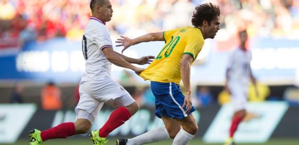 Kaká sofreu lesão muscular no retorno aos treinamentos com o Orlando City