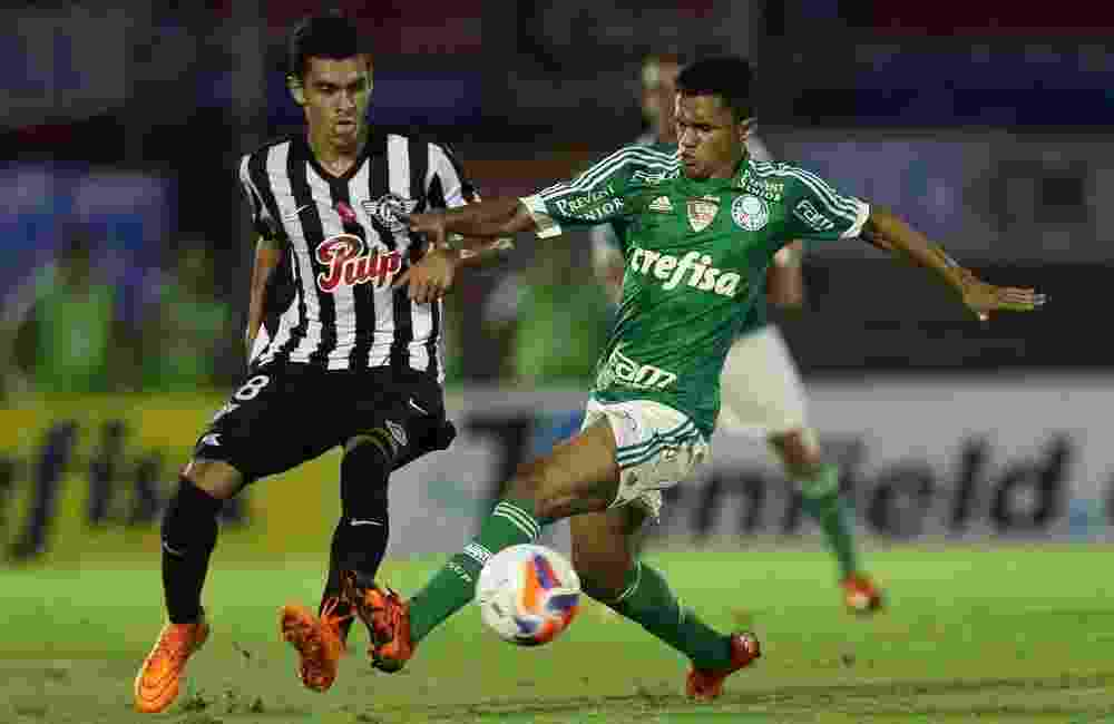 Erik foi um dos destaques do Palmeiras durante a vitória por 2 a 0 sobre o Libertad - Cesar Greco/Ag Palmeiras