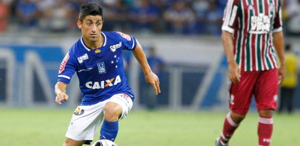 Matías Pisano não se firmou com o uniforme do Cruzeiro