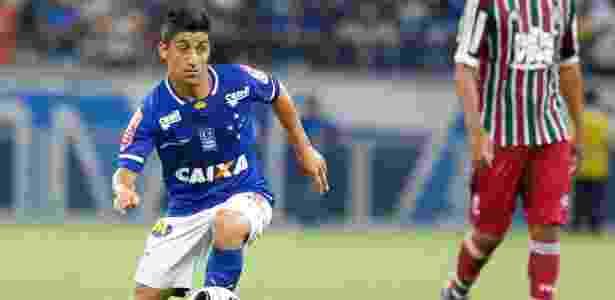 Matías Pisano não se firmou com o uniforme do Cruzeiro - Washington Alves/Light Press/Cruzeiro