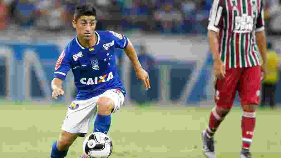 Matías Pisano foi comprado pelo Cruzeiro em janeiro de 2016 - Washington Alves/Light Press/Cruzeiro