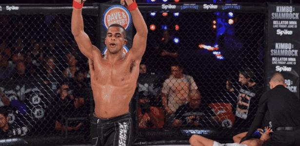 Jordan Parsons tinha apenas 25 anos de idade e 11 vitórias no MMA - Reprodução/Twitter