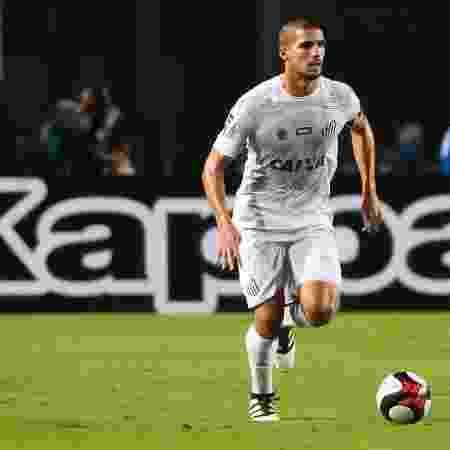 Zagueiro Fabián Noguera, do Santos - Ivan Storti/ Santos FC