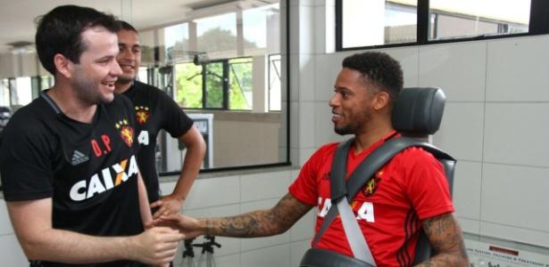 Jogador já começou a trabalhar com o novo-velho clube