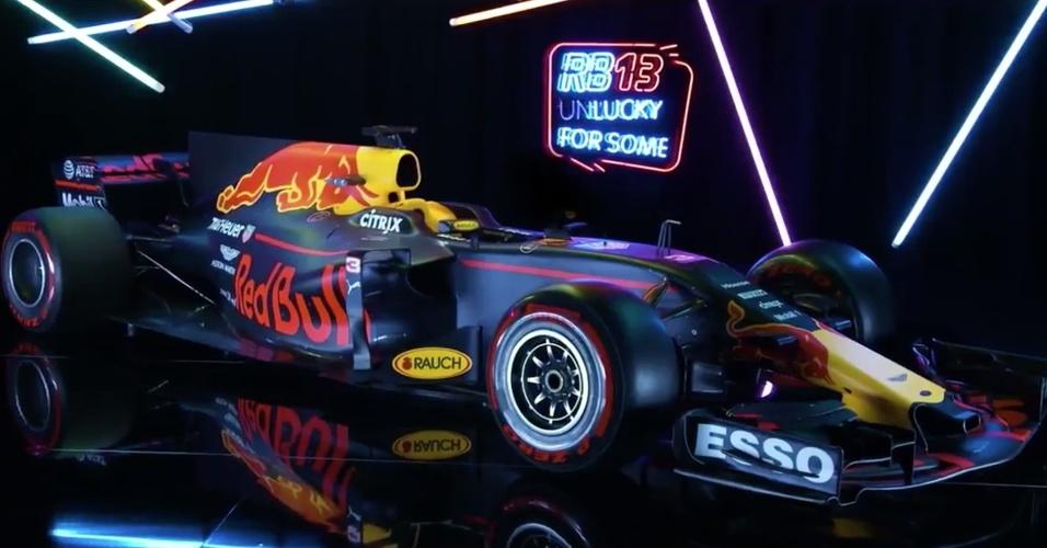 Red Bull lança carro para a temporada 2017