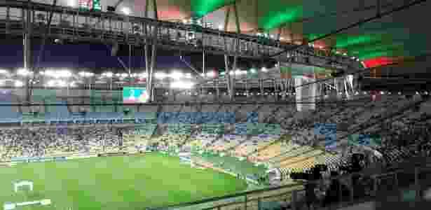 Maracanã não recebeu um grande público para Fluminense x Atlético-MG - Leo Burlá/UOL Esporte - Leo Burlá/UOL Esporte