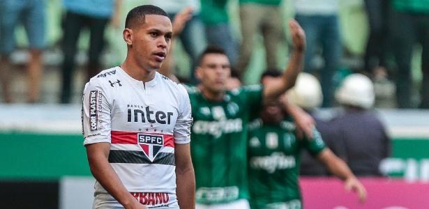 São Paulo, de Marcos Guilherme, busca a sua primeira vitória na casa do Palmeiras