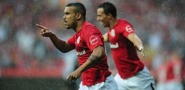William Pottker e Damião marcaram gols do Internacional contra o Figueirense - Ricardo Duarte/Internacional