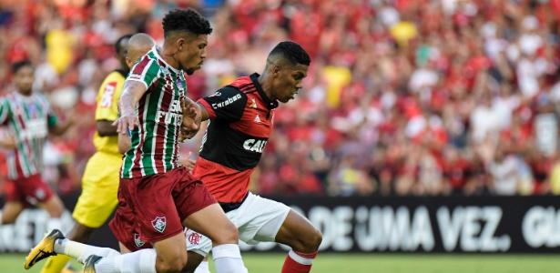 Douglas falou sobre o duelo diante do Flamengo - Thiago Ribeiro/AGIF