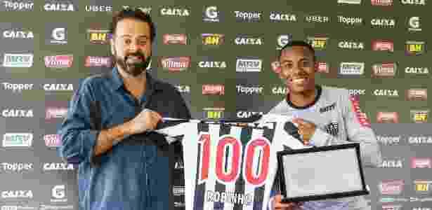 Robinho, do Atlético-MG - Bruno Cantini/Atlético-MG - Bruno Cantini/Atlético-MG