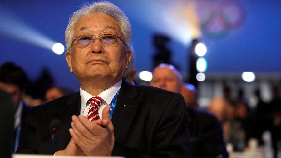 Chang Ung, membro do Comitê Olímpico da Coreia do Norte, em Pyeongchang no dia 6 de fevereiro - Kim Hong-Ji/Reuters