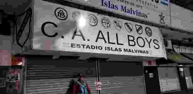 Estádio do All Boys foi lacrado e passou por inspeção nesta quarta-feira (28) - CA All Boys/Divulgação - CA All Boys/Divulgação