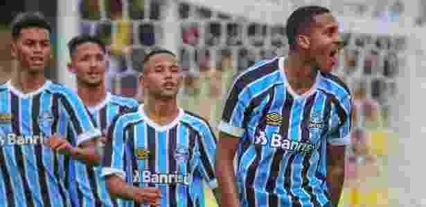 Da Silva marcou golaço e abriu placar na vitória do Grêmio em cima do Audax - Guilherme Rodrigues/GR Press