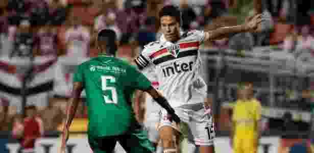 Hernanes, durante partida entre São Paulo e Guarani - Marcello Zambrana/AGIF - Marcello Zambrana/AGIF