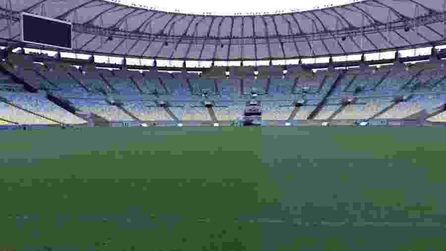 Fluminense se viu traído pelo consórcio Maracanã e ficará sem setor sul em final - Divulgação/Maracanã