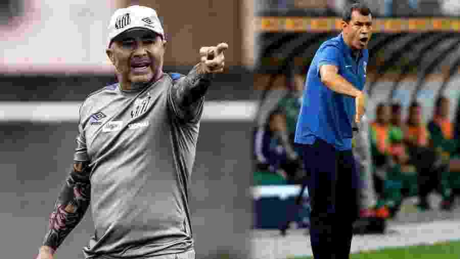 Ivan Storti/Santos FC e Daniel Vorley/AGIF