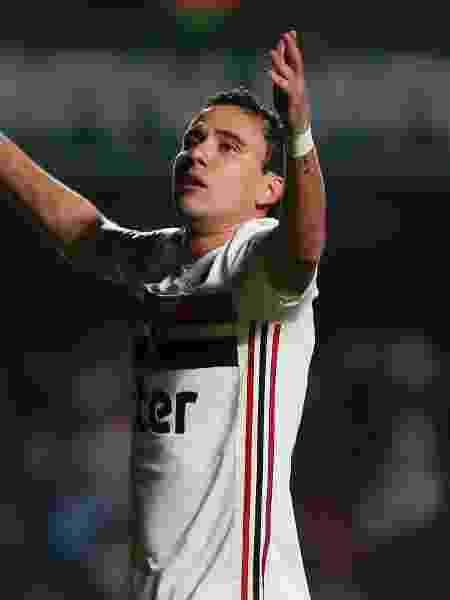 Pablo comemora gol do São Paulo diante do Palmeiras pelo Campeonato Brasileiro 2019 - Marcello Zambrana/Agif