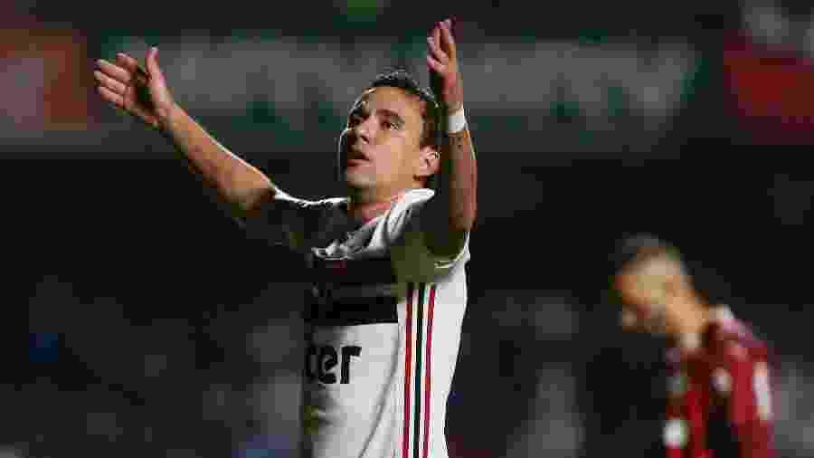 Pablo comemora gol do São Paulo - Marcello Zambrana/Agif