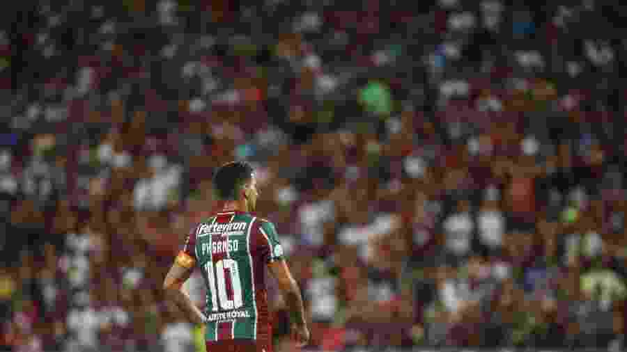 Ganso foi barrado por Marcão e deve ficar no banco contra a Chapecoense - Lucas Merçon/Fluminense FC
