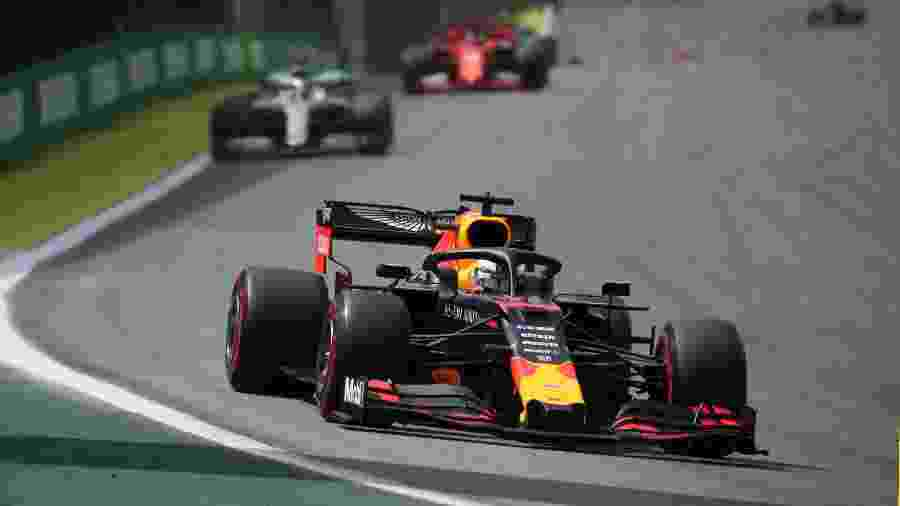 Max Verstappen no GP do Brasil - Ricardo Moraes/Reuters