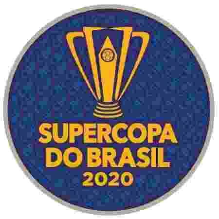 Patch da final da Supercopa do Brasil, jogo que será disputado entre Flamengo e Athletico - Reprodução