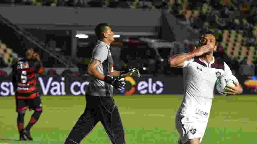 Nenê marcou dois gols e deu passe para outro na vitória do Fluminense - Mailson Santana/Fluminense FC